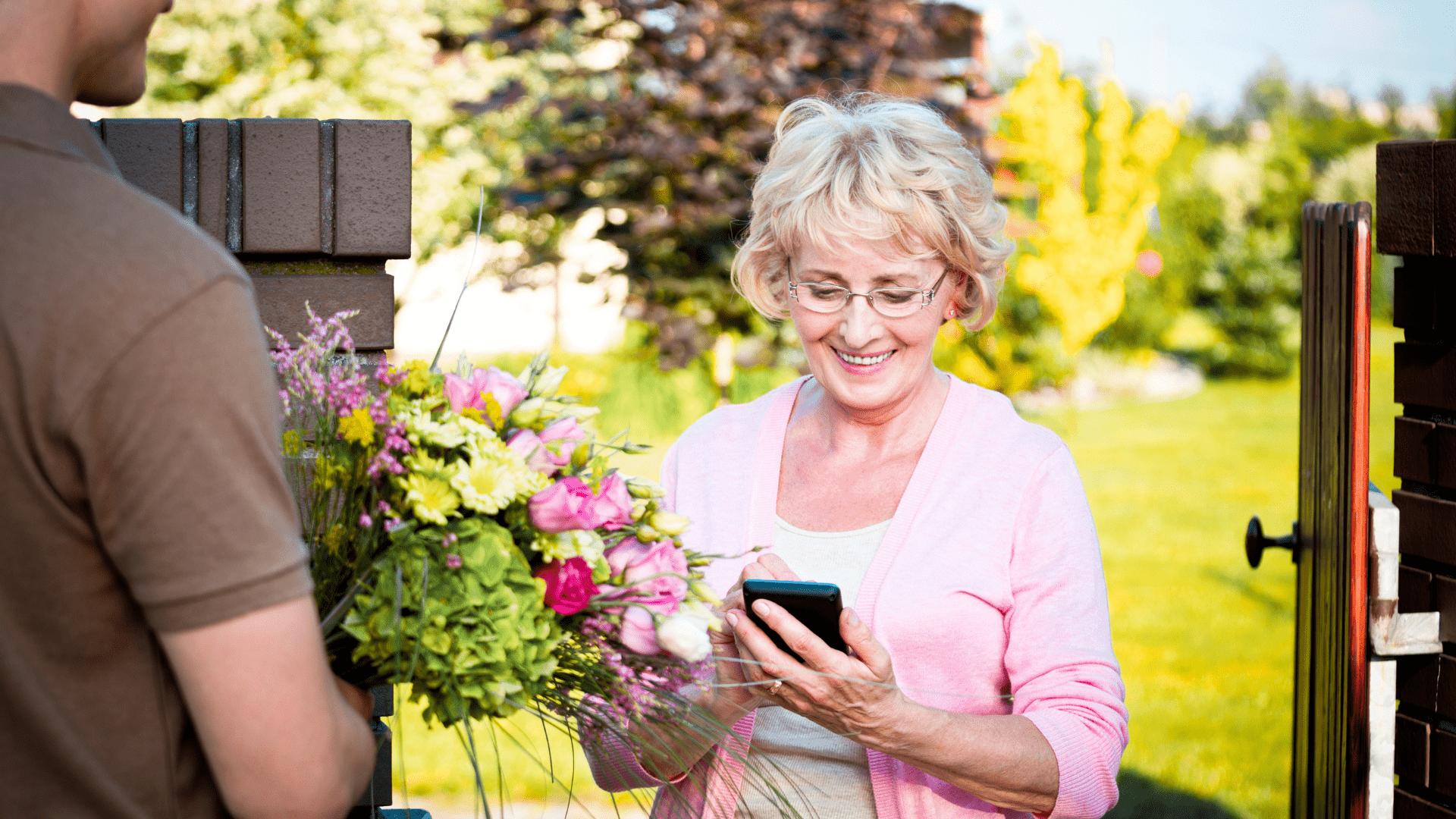 Consegna a domicilio fiori e piante