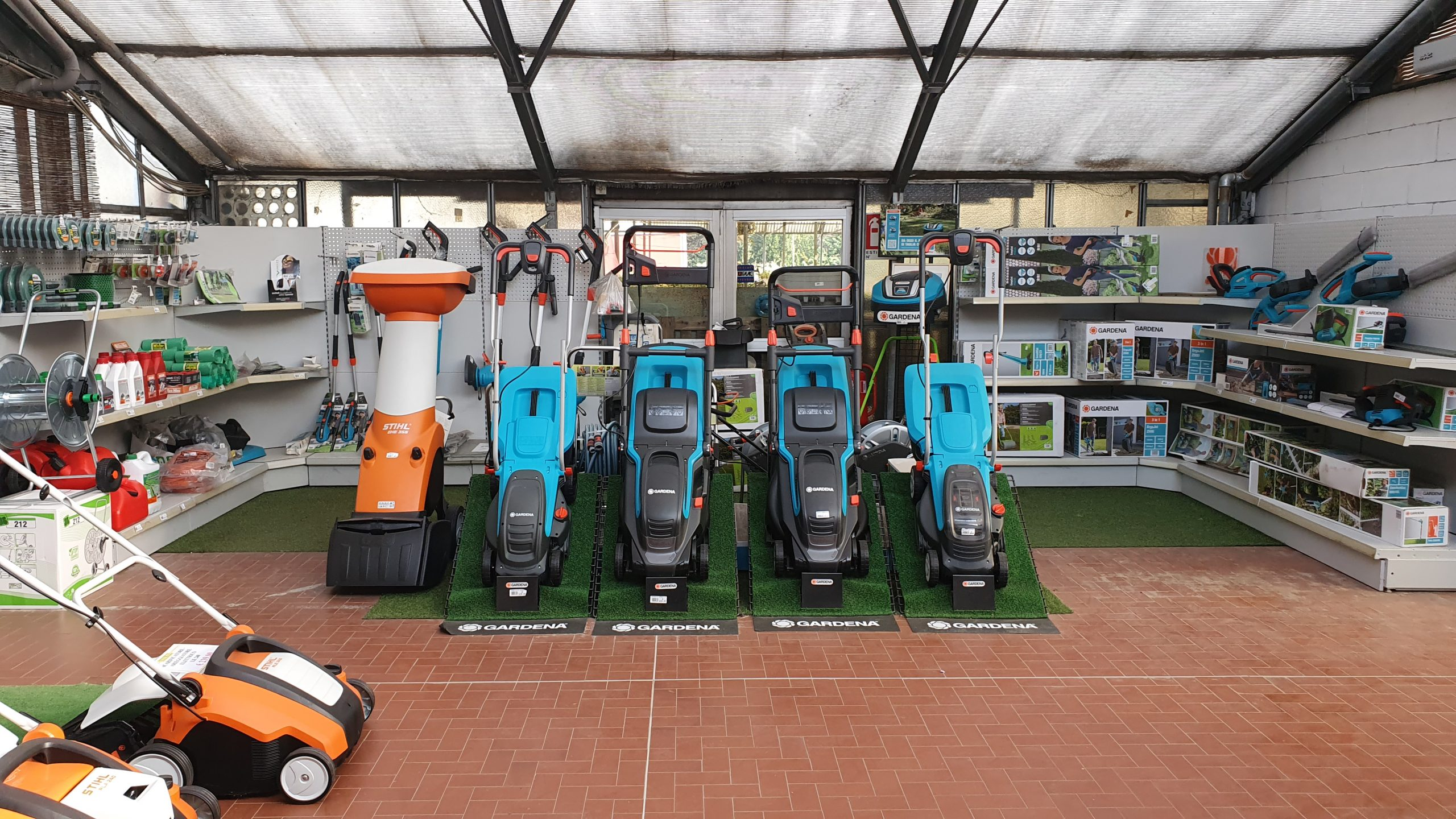 ricambi per piccole macchine agricole e Assistenza tecnica