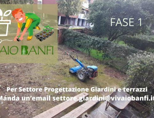 Settore Progettazione Giardini e terrazzi